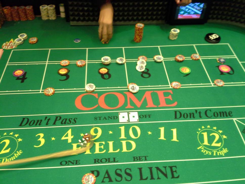 Odds of winning fire bet craps