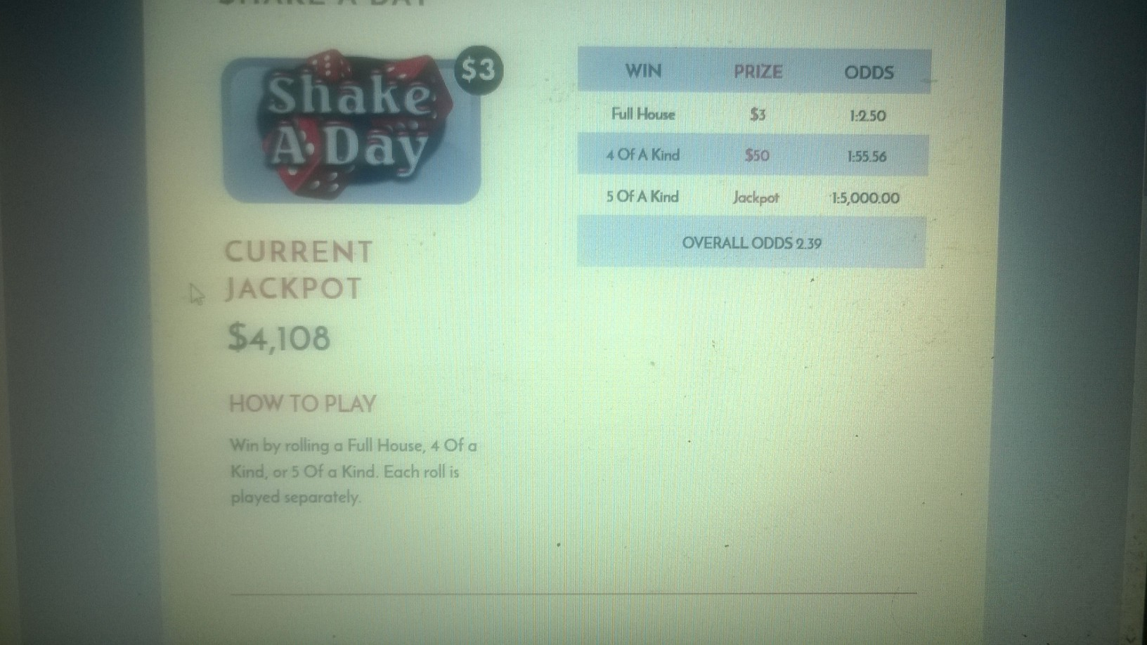 Name:  SHAKE A DAY.jpg